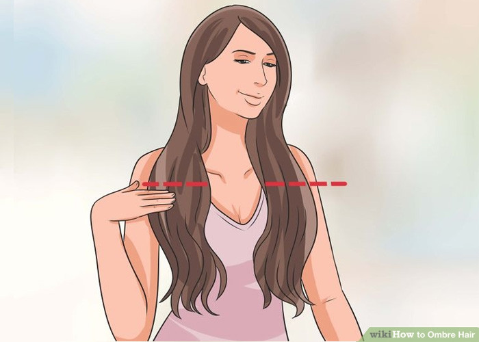 Ombre Balyaj Nasıl Yapılır Saçlarım Ve Ben
